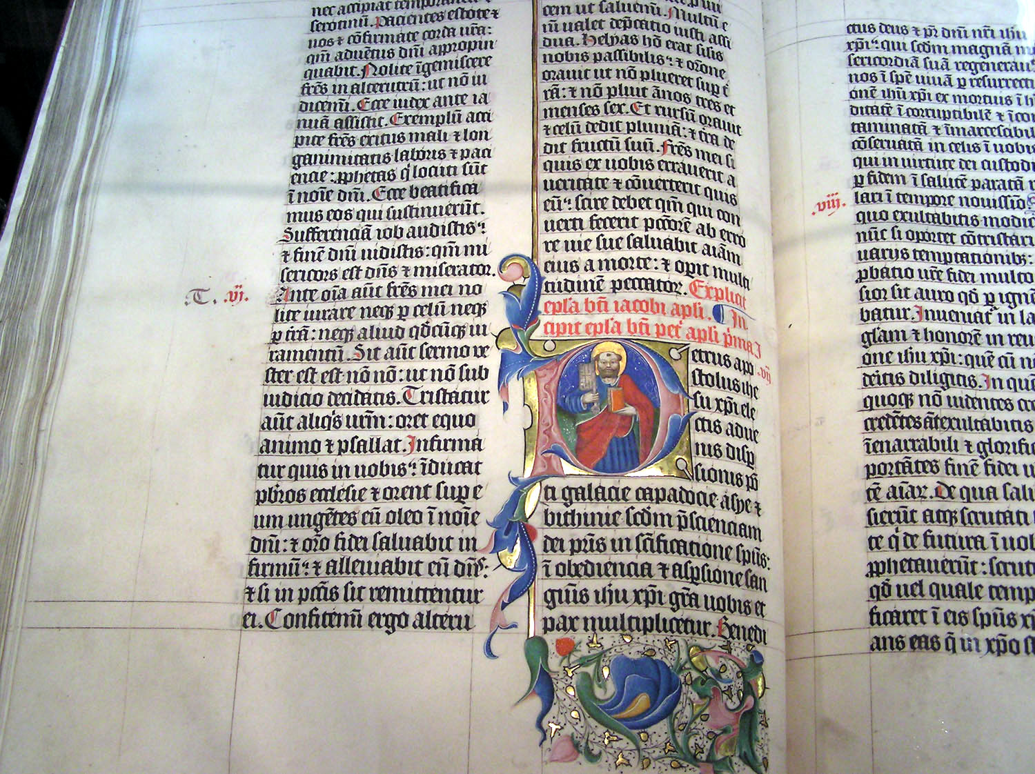 example of an illuminated text